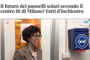 Interview at Corriere Innovazione [ITA]